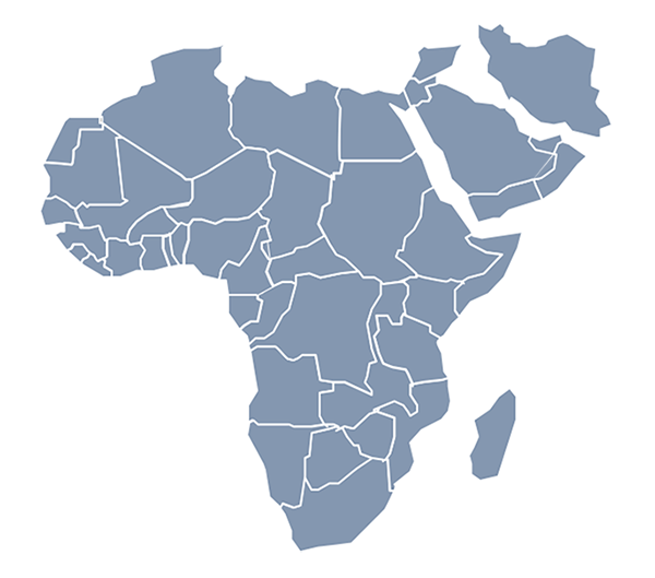 Africa & Middle East 600x529 copy - International Academy ...