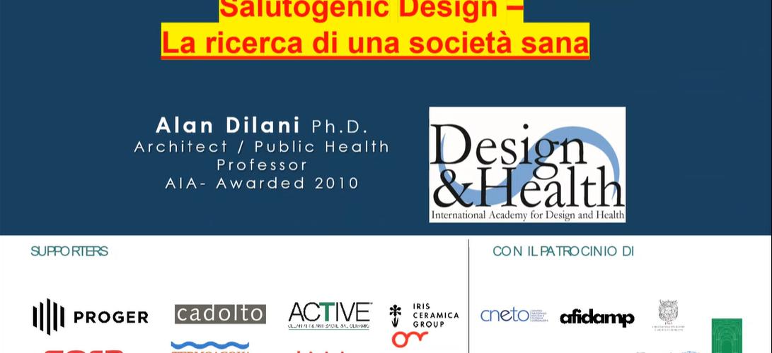 Salutogenic Design - La ricerca di una societa sana